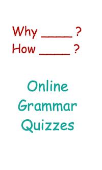 Online Grammar Quizzes